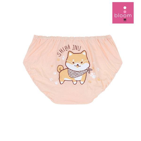 Wacoal Bloom Panty กางเกงในสำหรับเด็ก แพ็ค 3 ชิ้น รุ่น WU6A03 ลาย Shiba