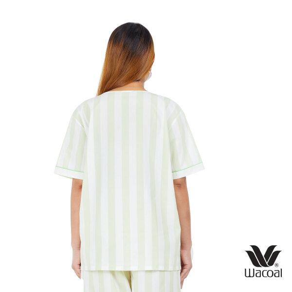 วาโก้ ชุดนอน (Wacoal Night Wear TEEBAZA Collection)  รุ่น WV7M14 สีเขียว (GR)