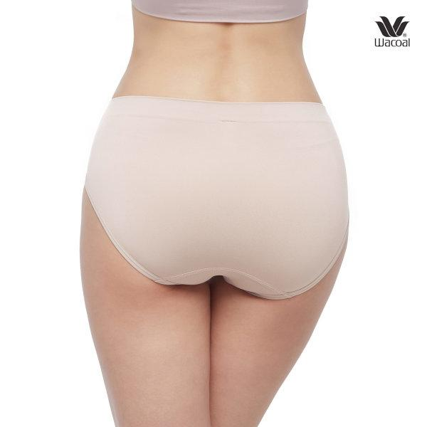 Wacoal Oh my nudes Bikini Panty Set 2 ชิ้น รุ่น WU1507 สีเบจ (BE)
