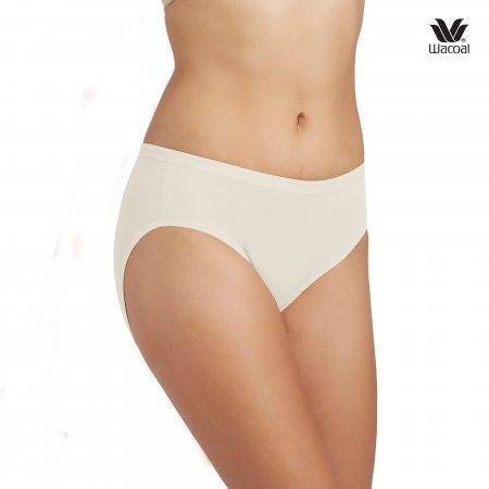 Wacoal Bikini Panty Set 3 ชิ้น รุ่น WQ6M01 สีครีม (CR)