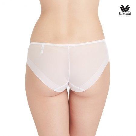 Wacoal Panty Oh my nude Sheer Bikini : รุ่น WU1738 set 3 ชิ้น สีชมพู (PI)