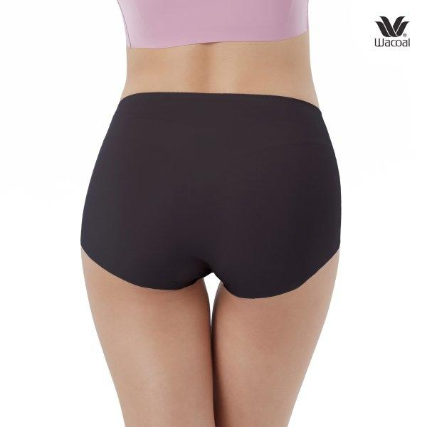 Wacoal Oh my nudes Short Panty Set 2 ชิ้น รุ่น WU4690 สีดำ (BL)