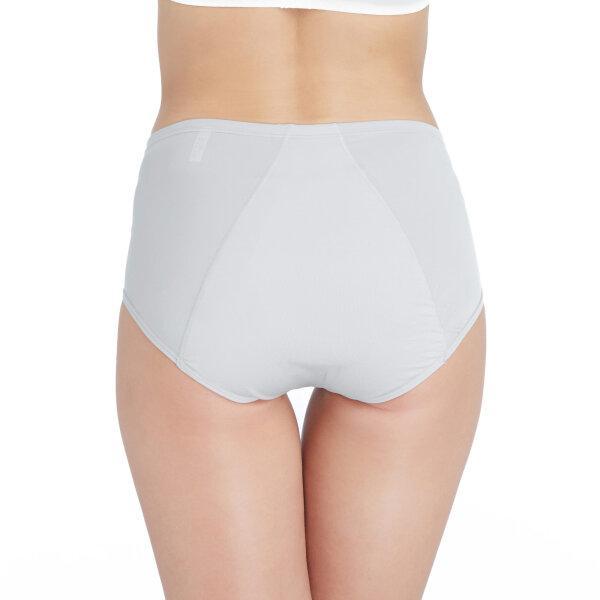 วาโก้ กางเกงในอนามัย ครึ่งตัว (Wacoal Hygieni Night Short Panty) รุ่น WU5041 Set 3 ชิ้น สีเทา (GY)