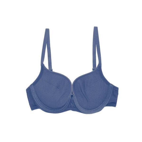 วาโก้ เสื้อชั้นในเสริมฟองน้ำ  (Wacoal Push Up Bra) รุ่น WB5U59 สีน้ำเงิน (NG)