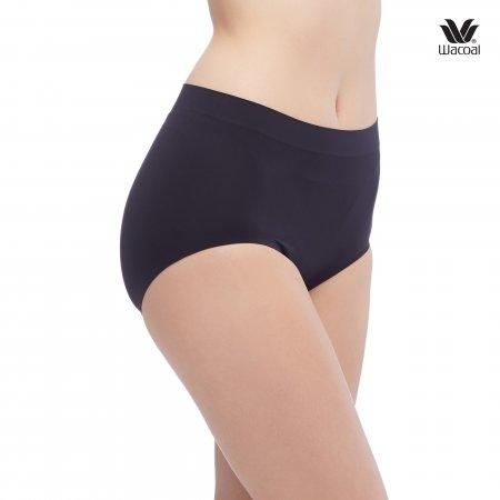Wacoal Oh my nudes Half Panty Set 2 ชิ้น รุ่น WU3906 สีเบจ (BE),สีดำ (BL)