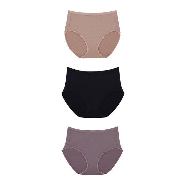 วาโก้ กางเกงใน บิกีนี (Wacoal Value Pack Bikini Panty)  รุ่น WU4M30,WQ6M30 Set 6 ชิ้น สีดำ (BL),สีชมพูดอกคาร์เนชั่น (CP)