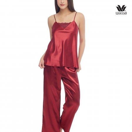 Wacoal Night wear รุ่น WN7C52 สีแดงเข้ม (RE)