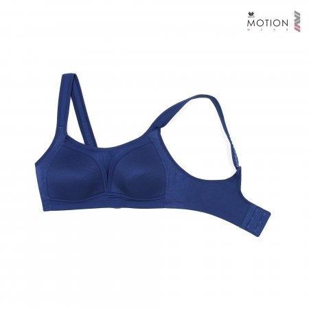 วาโก้ บราสำหรับออกกำลังกาย Wacoal Motion Wear รุ่น WR1485 สีน้ำเงินเข้ม (NB)