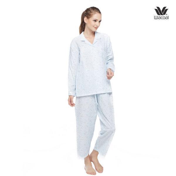 Wacoal Night Wear รุ่น WN9M15 สีฟ้า (SX)
