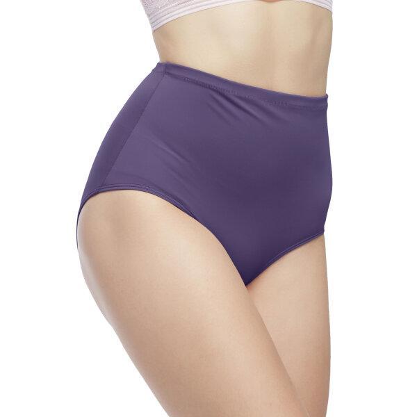 วาโก้ กางเกงในเก็บกระชับหน้าท้อง เอวสูง (Wacoal High Waist Panty) รุ่นWU4888 Set 3 ชิ้น สีม่วง (VI)