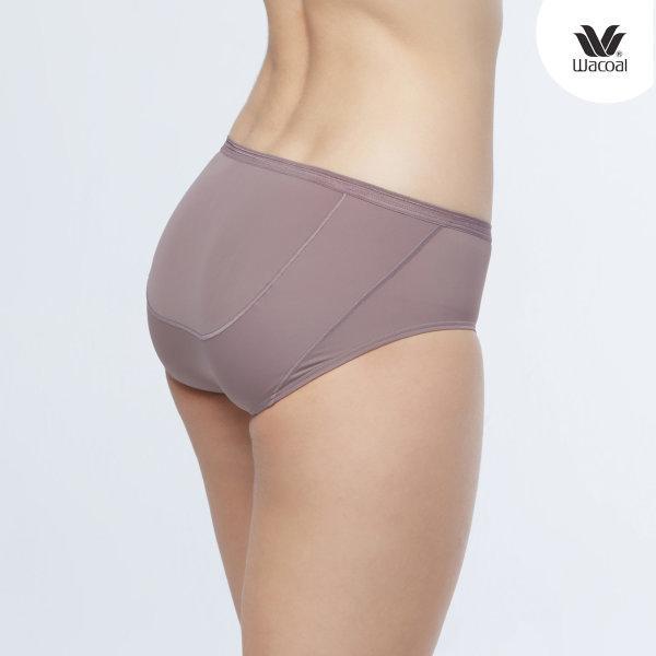 วาโก้ กางเกงในไม่เข้าวิน (Wacoal U-Fit Half Panty) Set 2 ชิ้น รุ่น WU3937 สีน้ำตาลไหม้ (BT)