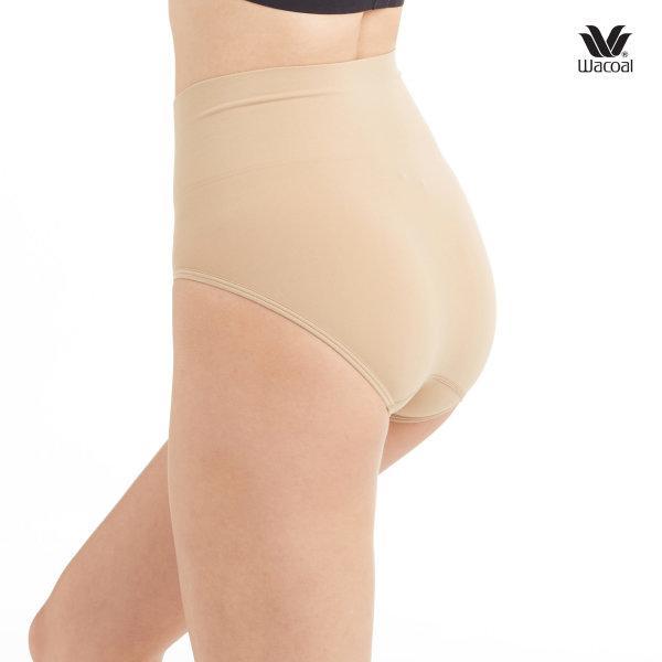 Wacoal Short Secret Support Panty Set 2 ชิ้น รุ่น WU4M17 สีโอวัลติน (OT)