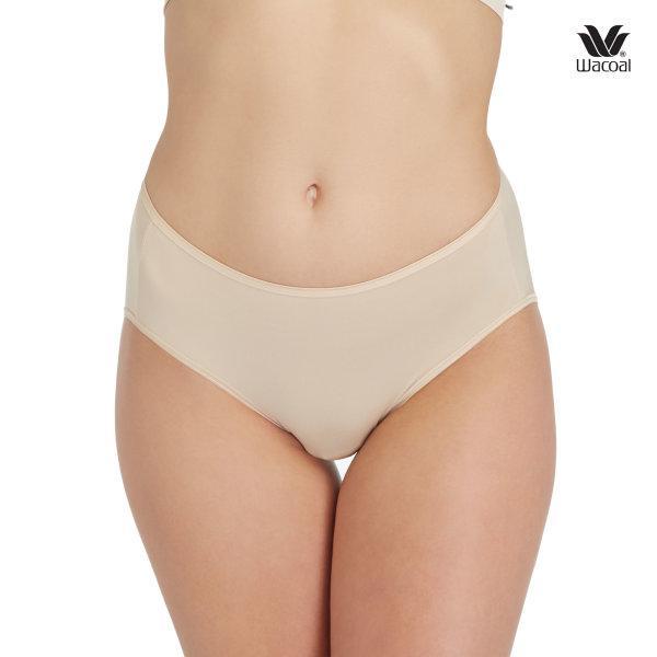 Wacoal Super Soft Half Panty Set 3 ชิ้น รุ่น WU3811 สีเนื้อ (NN)