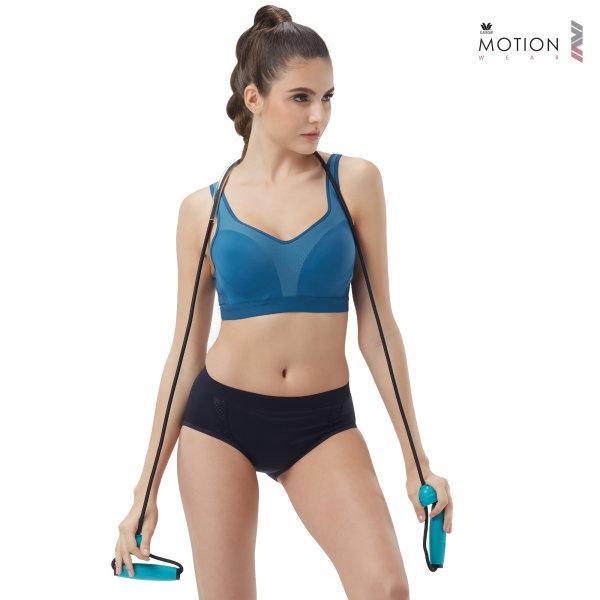 วาโก้ บราสำหรับออกกำลังกาย Wacoal Motion Wear รุ่น WR1518 สีฟ้า (SX)