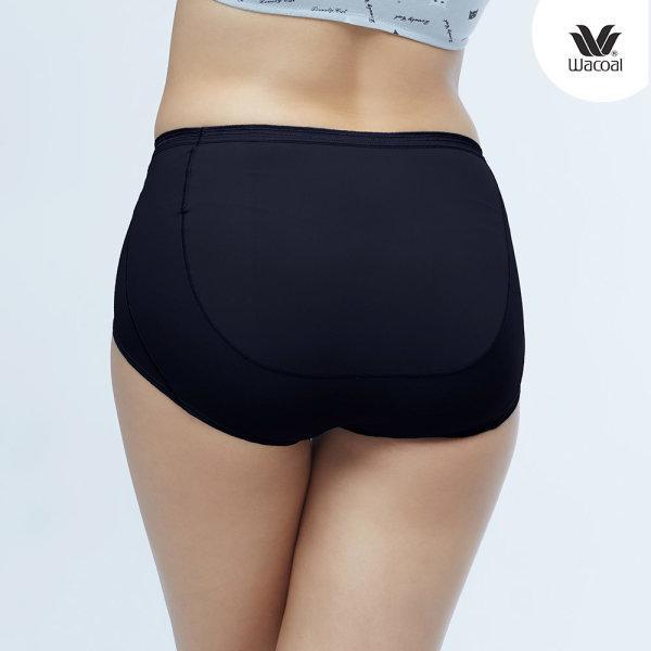 วาโก้ กางเกงในไม่เข้าวิน (Wacoal U-Fit Short Panty) Set 2 ชิ้น รุ่น WU4937  สีดำ (BL)