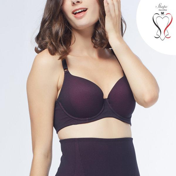 Wacoal Shape Beautifier Bra รุ่น WB6746 สีดำ (BL)