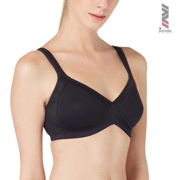 วาโก้ บราสำหรับออกกำลังกาย Wacoal Motion Wear รุ่น WR1482 สีดำ (BL)