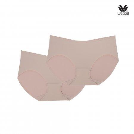 Wacoal Low-rise Oh my nudes Bikini Panty Set 2 ชิ้น รุ่น WU2873 สีเบจ (ฺBE)