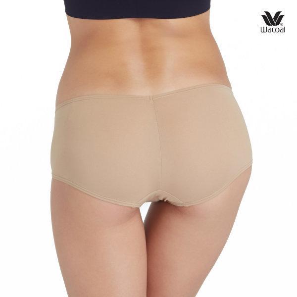 Wacoal Boyleg Low Rise V-Cut Panty Set 3 ชิ้น WU8458 สีโอวัลติน (OT)
