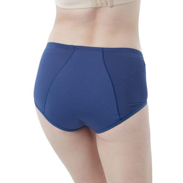 วาโก้ กางเกงในอนามัย ครึ่งตัว (Wacoal Hygieni Night Short Panty) รุ่น WU5041 Set 5 ชิ้น สีน้ำเงิน (BU)
