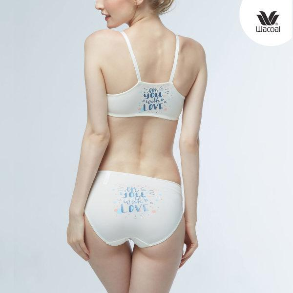 Wacoal Wireless Bra รุ่น Set WB3X60 ,W63X60 สีครีม (CR)