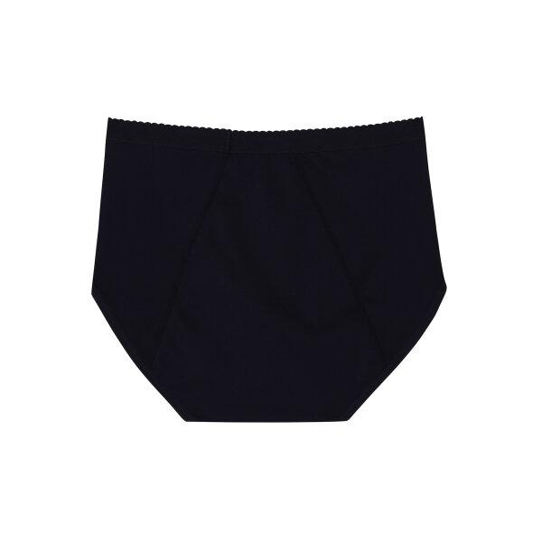 วาโก้ กางเกงในอนามัย ครึ่งตัว (Wacoal Hygieni Night Short Panty)  รุ่น WU5E00 Set 5 ชิ้น สีดำ (BL)