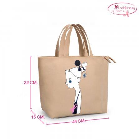 Wacoal กระเป๋าอิ่มเอม สีคลาสสิค Shopping Bag รุ่น WW9163