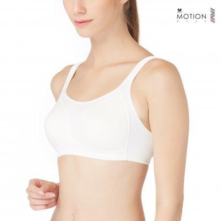 Wacoal Motion Wear Bra รุ่น WR1485 สีครีม (CR)