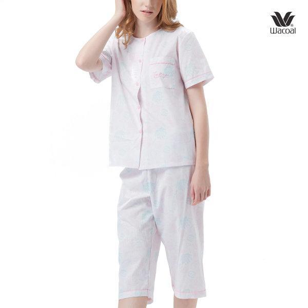 Wacoal Night Wear Summer Treasure Collection ชุดนอนวาโก้ รุ่น WV7M15 สีชมพู (PI)