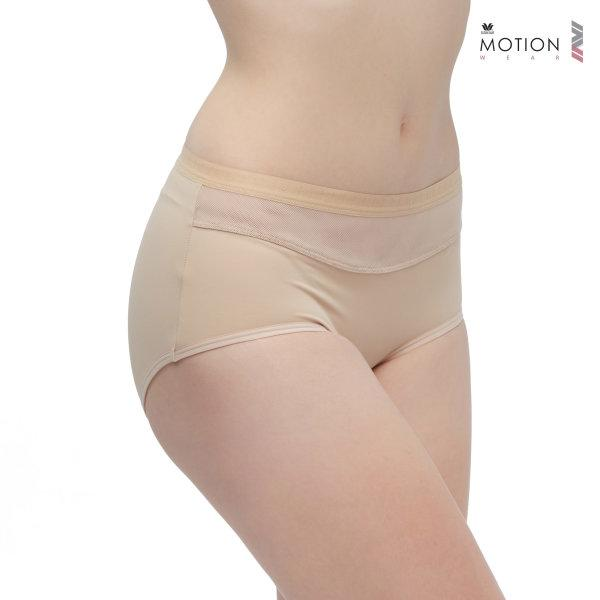 Wacoal Motion Wear Panty Boy Leg รุ่น WR6516 สีเบจ (BE)
