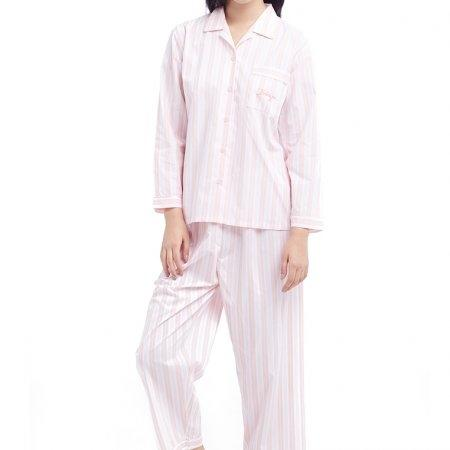 Wacoal Night wear รุ่น WV7M02 สีชมพูอมเทา (GO)