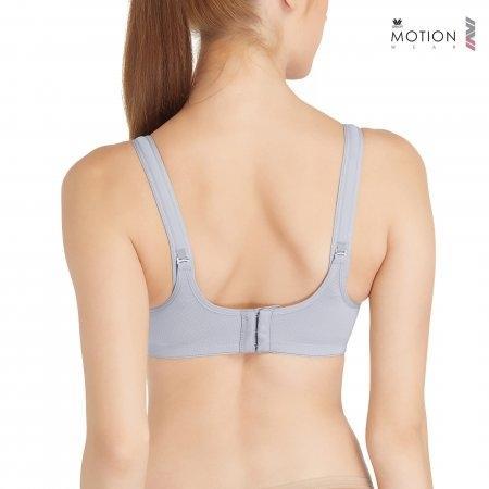 Wacoal Motion Wear Bra รุ่น WR1485 สีเทา (GY)