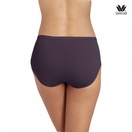 Wacoal Bikini Panty Set 3 ชิ้น รุ่น WU1M01 สีม่วงออกน้ำเงิน (PU)