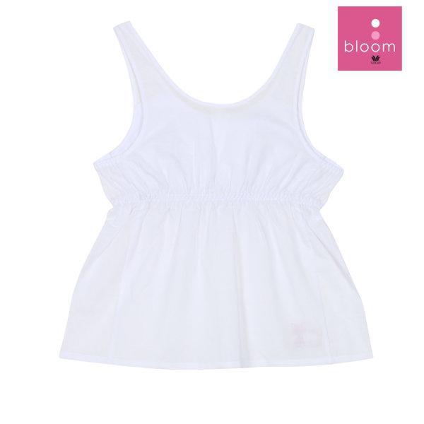 Wacoal Bloom step 2 รุ่น WH6X40 เสื้อบังทรงกึ่งยกทรง แบบเรียบ สีขาว (WH)