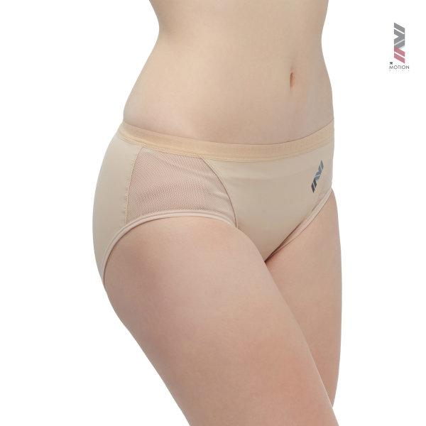 Wacoal Motion Wear Panty Boy Leg รุ่น WR6515 สีเบจ (BE)