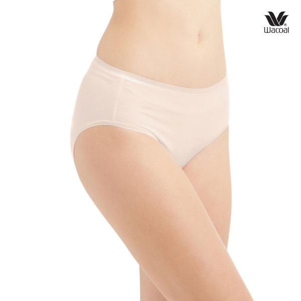 Wacoal Material Innovation Panty Half Pack 3 ชิ้น รุ่น WU3010 สีเบจ (BE)