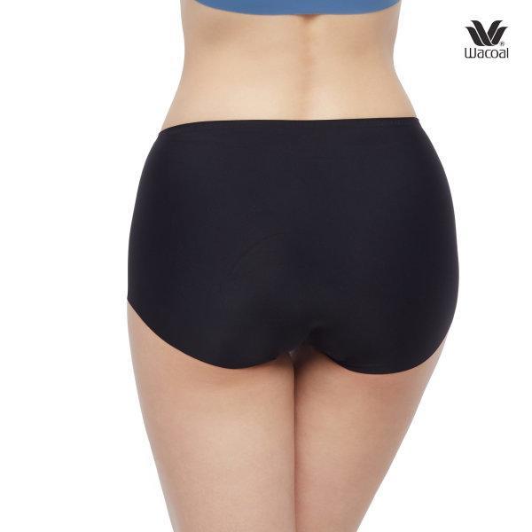 Wacoal Panty Oh my nude : Short รุ่น WU4999 Set 3 ชิ้น สีดำ (BL)