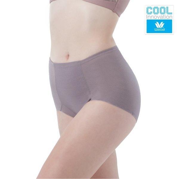 Wacoal Delicate Cool Hips รุ่น WY1170 สีน้ำตาลไหม้ (BT)