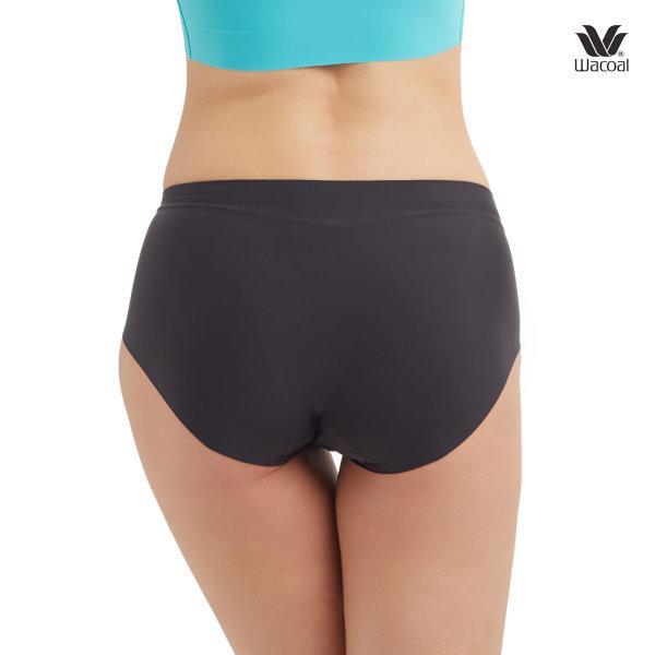 Wacoal Oh My Nude Half Panty Set 2 ชิ้น รุ่น WU3966 สีดำ (BL)