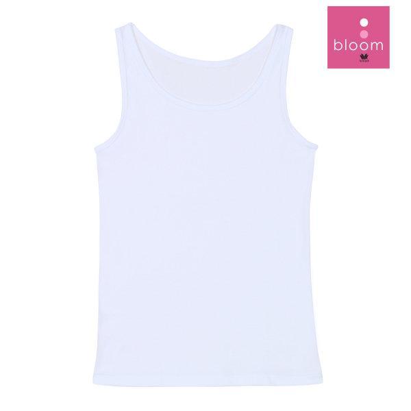 Wacoal Bloom Step 1 รุ่น WH6B84 เสื้อกล้ามบังทรง แบบเรียบ สีขาว (WH)