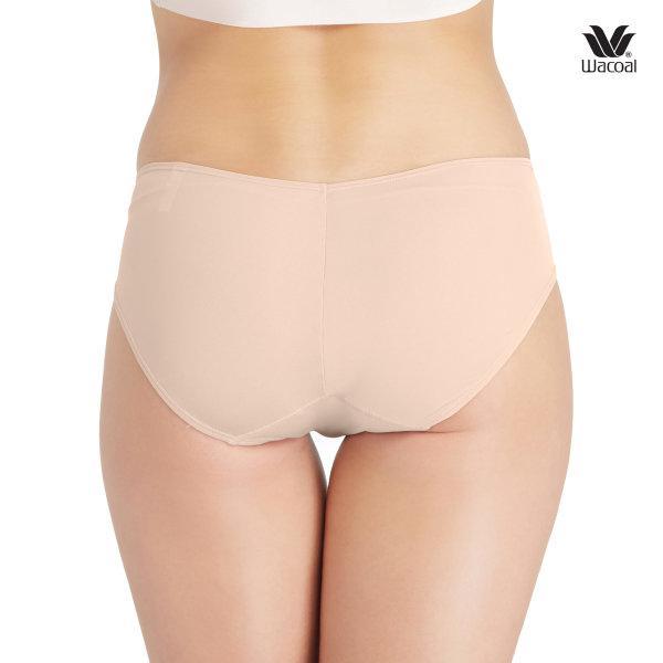 Wacoal Panty Low Rise : V - Cut : Bikini รุ่น WU2458 Set 3 ชิ้น สีเนื้อ (NN)