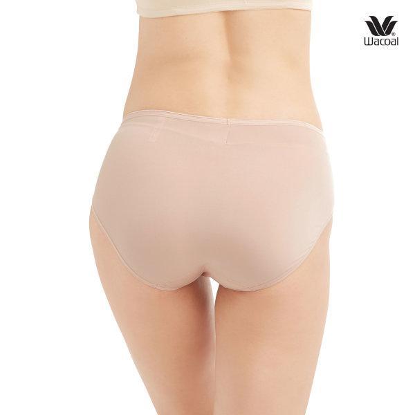 Wacoal Super Soft Half Panty Set 3 ชิ้น รุ่น WU3811 สีโอวัลติน (OT)