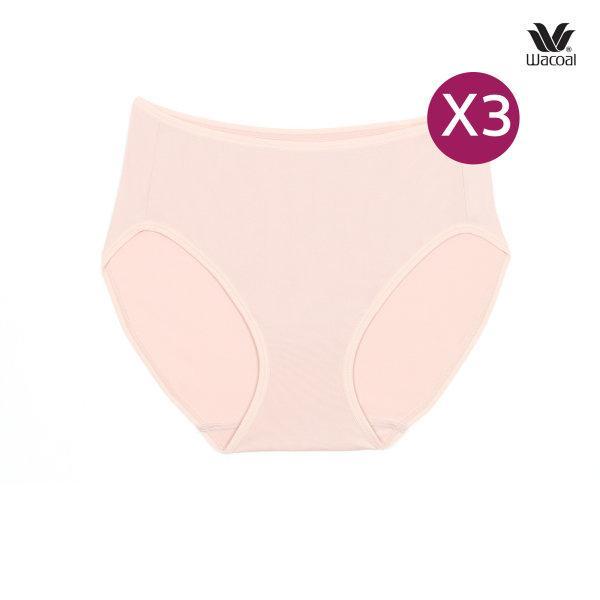 Wacoal Half Panty กางเกงในรูปแบบครึ่งตัว เซ็ต 3 ชิ้น รุ่น WU3287 สีเบจ (BE)