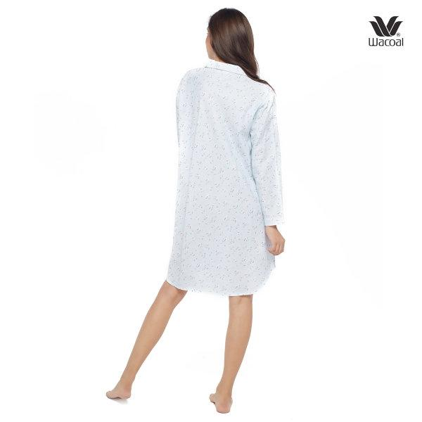 Wacoal Night Wear รุ่น WN8M06 สีฟ้า (SX)