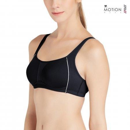 วาโก้ บราสำหรับออกกำลังกาย Wacoal Motion Wear รุ่น WR1487 สีดำ (BL)