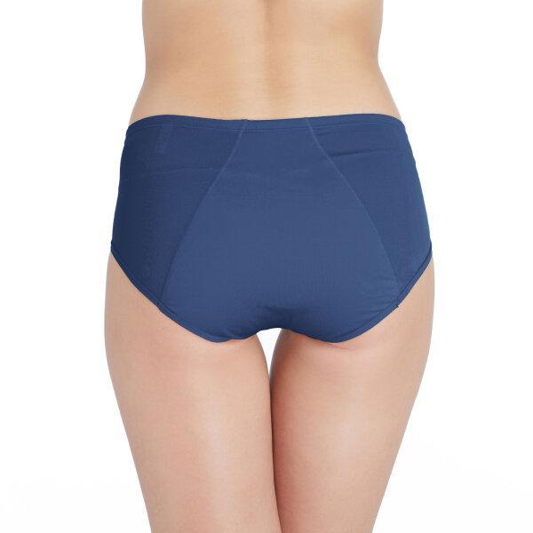 วาโก้ กางเกงในอนามัย ครึ่งตัว (Wacoal Hygieni Night Short Panty) รุ่น WU5051 Set 3 ชิ้น สีน้ำเงิน(BU)