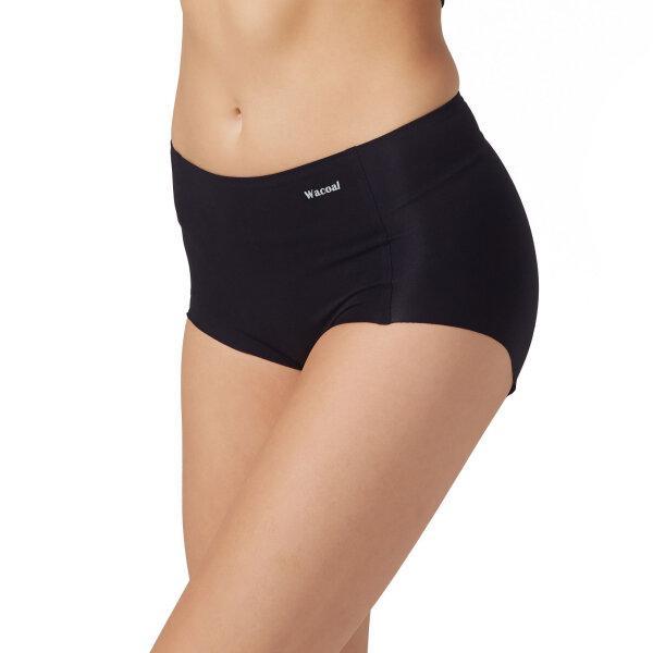 วาโก้ กางเกงในไร้ขอบ เต็มตัว (Wacoal Oh my nude Short Panty) รุ่นWU4199 Set 3 ชิ้น สีดำ (BL)