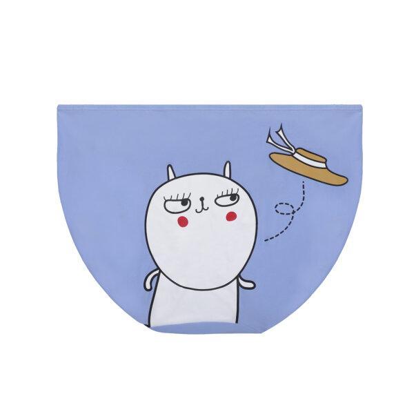 Wacoal Mood x Jay The Rabbit Panty รุ่น MM6E85 สีฟ้า (BU)