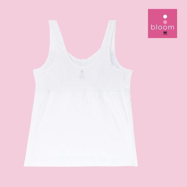 Wacoal Bloom Step 2 รุ่น WH6M64 เสื้อบังทรงกึ่งยกทรง แบบเรียบ สีขาว (WH)