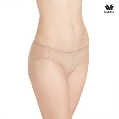 Wacoal Panty Oh my nudes Sheer Bikini : รุ่น WU1738 set 3 ชิ้น สีโอวัลติน(OT)
